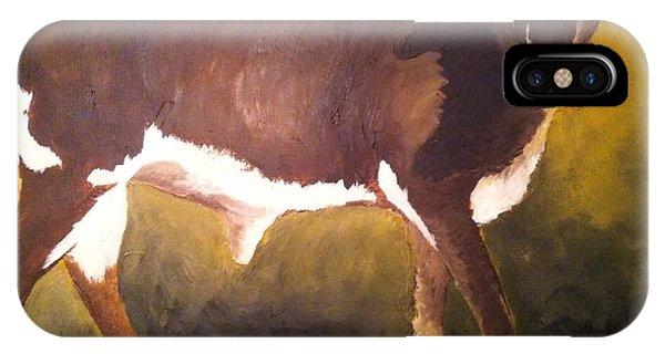 Steer Calf IPhone Case