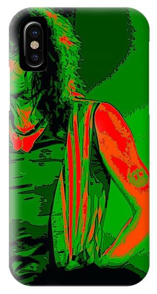 Steven Tyler iPhone Case - Steven In Spokane 1c by Ben Upham