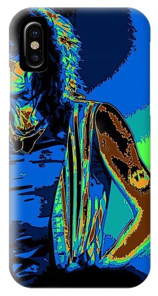 Steven Tyler iPhone Case - Steven In Spokane 1e by Ben Upham