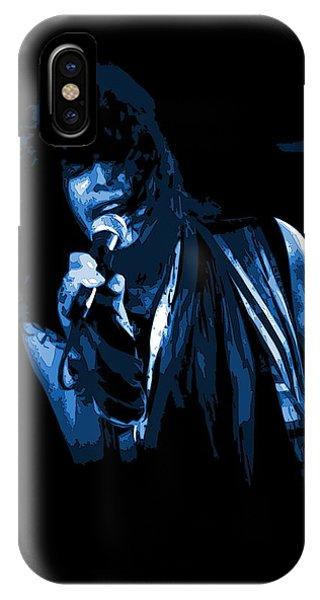 Steven Tyler iPhone Case - Steven In Spokane 5b by Ben Upham