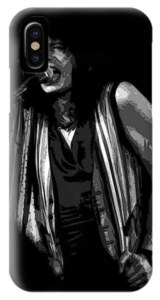 Steven Tyler iPhone Case - Steven In Spokane 6b by Ben Upham