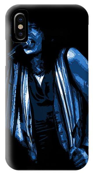 Steven Tyler iPhone Case - Steven In Spokane 6c by Ben Upham