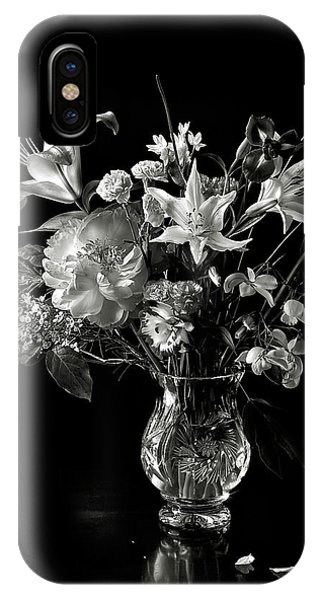 Still Life In Black And White IPhone Case