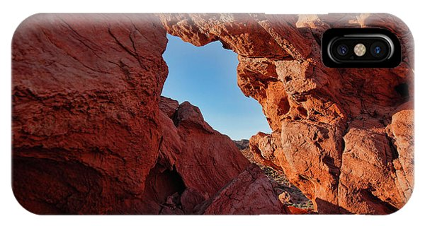 Valley Of Fire iPhone Case - Stone Arch by Rick Berk
