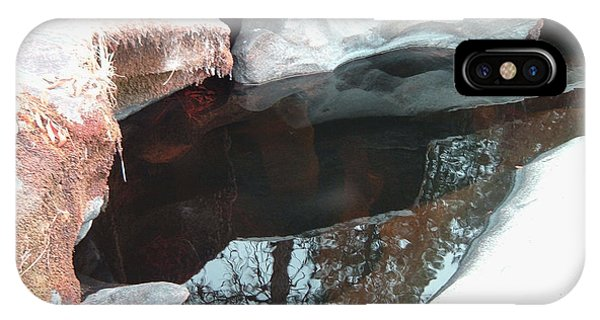 Sierra Nevada iPhone Case - Stones And Water by Naxart Studio