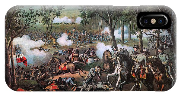 Allison iPhone Case - Stonewall Jackson Wounded by Granger