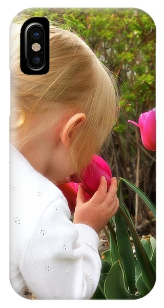 Stop To Smell The Flowers IPhone Case