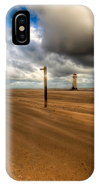 Navigation iPhone Case - Storm Brewing by Adrian Evans