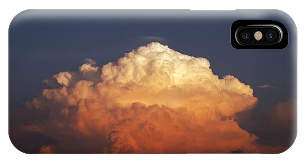 Storm Clouds At Sunset IPhone Case
