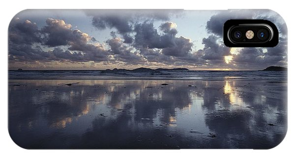 Wilsons Promontory iPhone Case - Storm Clouds Over Tidal Flat by Jason Edwards