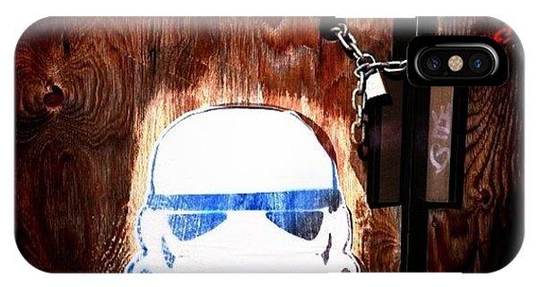 Nerd iPhone Case - Stormtrooper by Cassie OToole
