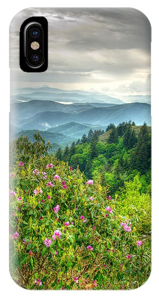 Stormy Spring Skies IPhone Case