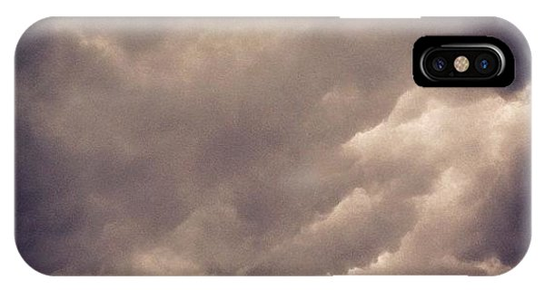 View iPhone Case - Stormy Weather by Cameron Bentley