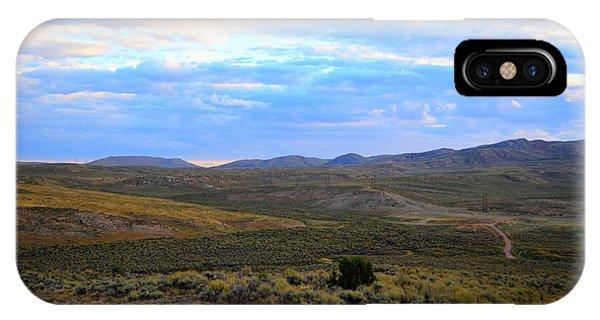 Stormy Wyoming Sunrise I IPhone Case