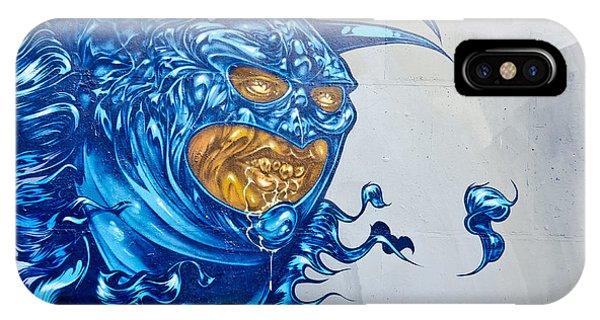Strange Graffiti Creature IPhone Case