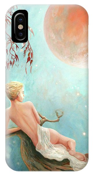 Strawberry Moon Nymph IPhone Case