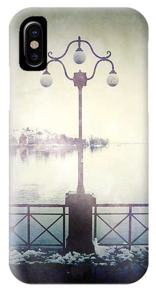 Ghastly iPhone Case - Street Lamp by Joana Kruse