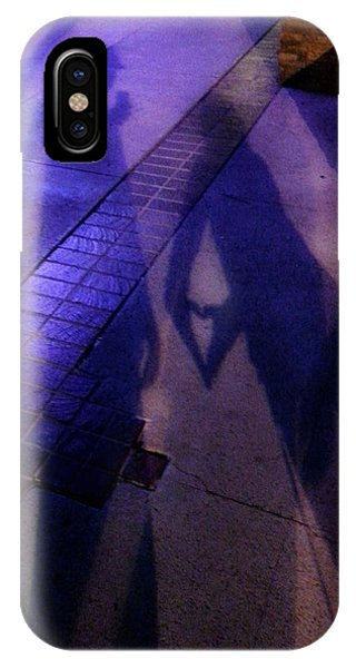 Street Shadows 004 IPhone Case