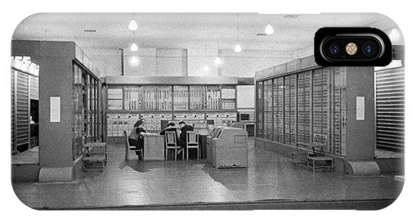 Strela Computer, 1956 Phone Case by Ria Novosti