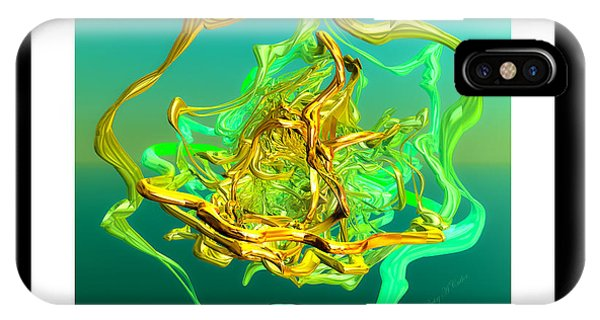 String Theory D IPhone Case