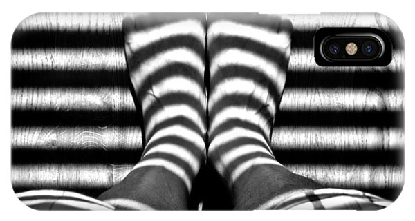 Stripe Socks? IPhone Case