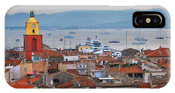 French Riviera iPhone Case - Saint-tropez At Sunset by Elena Elisseeva