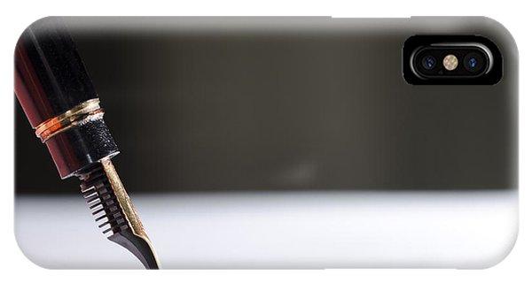 Stylograph Pen IPhone Case