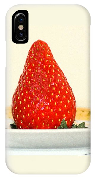 Succulent Strawberry IPhone Case
