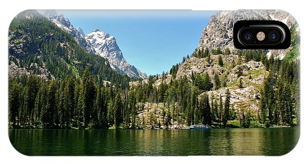 Summer Day At Jenny Lake IPhone Case