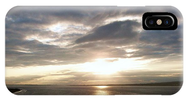 Sun Set On The Humber IPhone Case