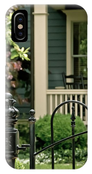 Sunday Afternoon In Doylestown IPhone Case