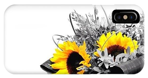 Iphoneonly iPhone Case - Sunflower by Mark B