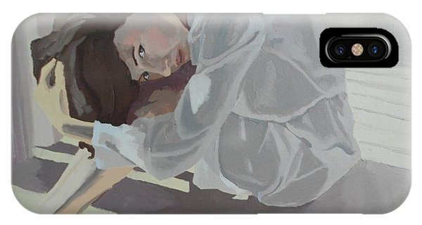 IPhone Case featuring the painting Sunlight by Stephen Panoushek