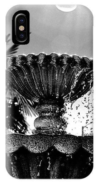 Sunny Fountain IPhone Case