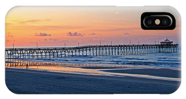 Sunrise At Cherry Grove Pier IPhone Case