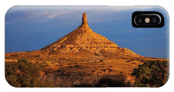 Sunrise At Chimney Rock IPhone Case