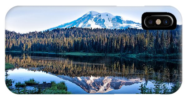 Sunrise At Reflection Lake IPhone Case