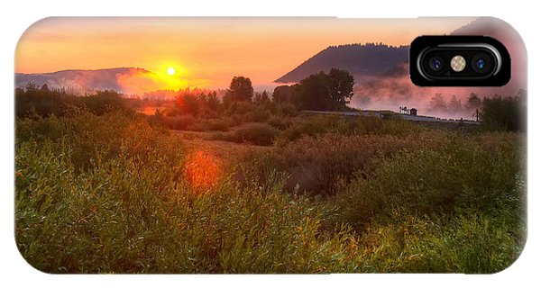 Sunrise At Snake River IPhone Case