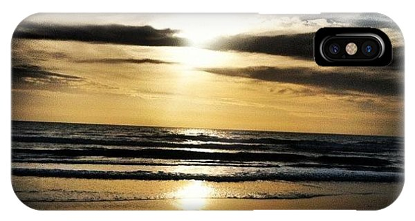 Bright iPhone Case - Sunrise On The Beach by Lea Ward