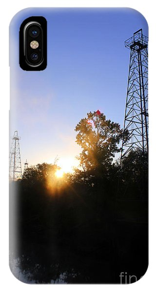 Sunrise On The Sabine IPhone Case