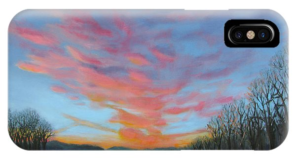 Sunrise Over The Highway IPhone Case