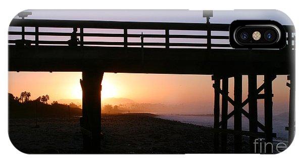 Sunrise Pier Ventura IPhone Case