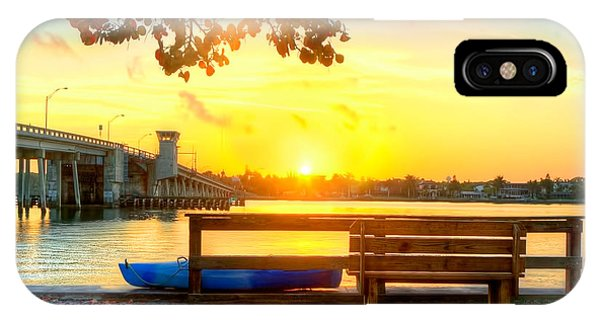 Sunrise Seista Drive Horizontal Phone Case by Jenny Ellen Photography