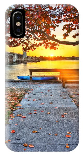 Sunrise Seista Drive2  Phone Case by Jenny Ellen Photography