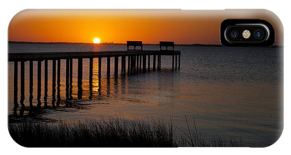 Sunset Across Currituck Sound IPhone Case