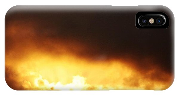 Sunset iPhone Case - Sunset After The Storm by Luisa Azzolini