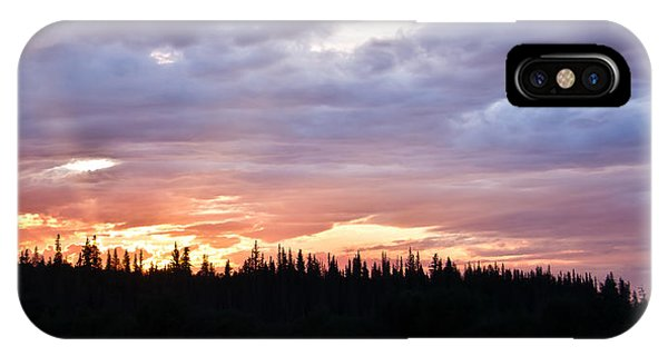 Sunset And Sun Rays IPhone Case