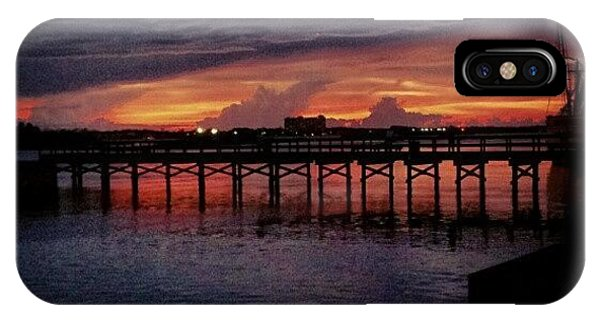 Summer iPhone Case - #sunset #dock #awesome #doubletap by Mandy Shupp