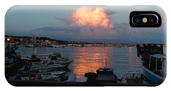 Sunset From Anzio IPhone Case