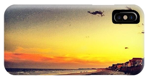 Sunset iPhone Case - #sunset #gardencity 🌞🏄 by Katie Williams